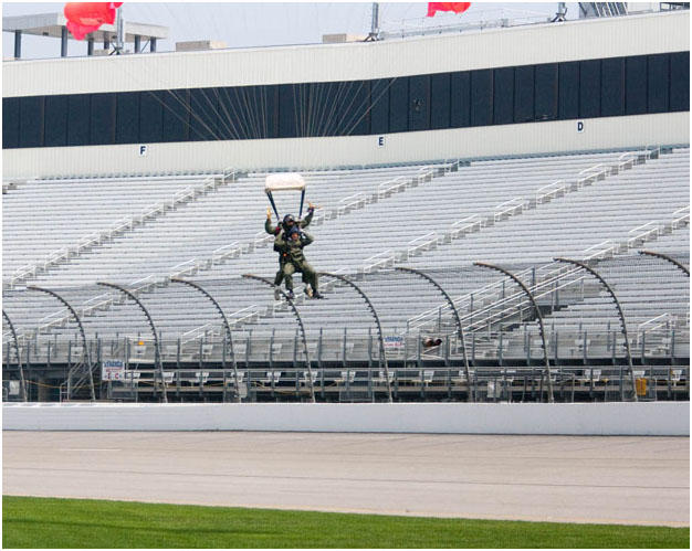 Richmond International Raceway Tandem Skydiving