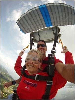 Tandem Skydiving in Virginia