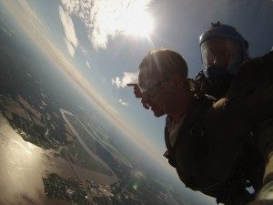 Sunset Skydiving in Virginia with No Limits Skydiving