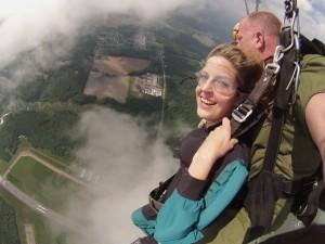 Skydiving in Virginia