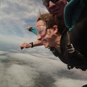 Tandem skydive - free as a bird!