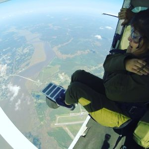 Tandem Skydiving - Only way down!